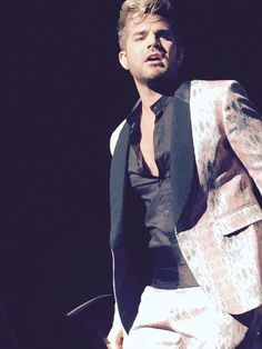 Adam Lambert in Miami - July 14, 2015 performing new songs from his new Album The Original High