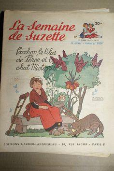 LA Semaine DE Suzette N 17 1954, Maggie salcedo.