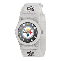 Game Time Unisex NFLROWPIT Rookie White Watch  Pittsburgh Steelers >>> Check out the image by visiting the link.
