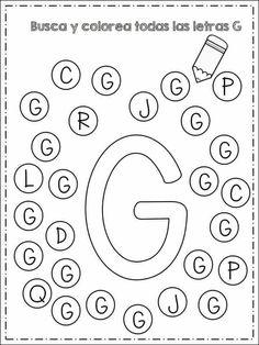 Preschool Forms, Preschool Learning Activities, Preschool Worksheets, Teaching Kids, Worksheet For Nursery Class, Kindergarten Projects, Do A Dot, Learning Websites, Book Letters