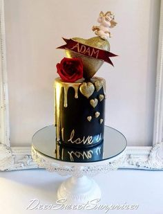 Gorgeous Cakes, Pretty Cakes, Amazing Cakes, Torta Angel, Indian Wall Decor, Pavlova Cake, Tall Cakes, Ballerina Cakes, Happy 40th Birthday