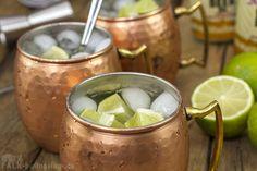 Moscow Mule - Vodka, Gingerbeer, Limette