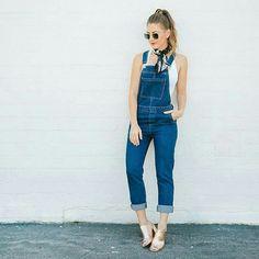 Macacão jeans @styleirl