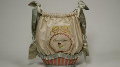 work bags, silk taffeta, silk embroidery, silk ribbons, Germany, c.1780–1790