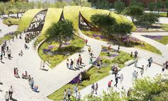Gallery of Brooks + Scarpa Propose New $12 Million Park for Downtown Los Angeles - 19