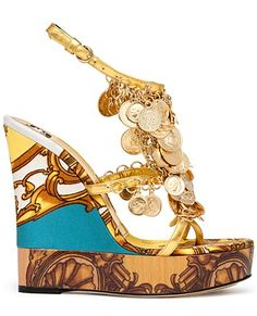 Dolce & Gabbana shoes Spring Summer 2012