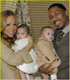 Diddy, Denzel Washington, Garcelle Beauvais: Black Celebrities Who Are Parenting Twins - Rolling Out Mariah Carey Family, Mariah Carey Nick Cannon, Mariah Carey Pregnant, Black Celebrities, Celebs, Celebrity Twins, Celebrity Children, Celebrity Photos, Celebrity Outfits