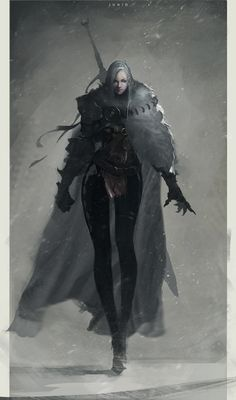 Dark Paladin by Ben Juniu Character Design Cartoon, Fantasy Character Design, Character Design Inspiration, Character Concept, Character Art, Character Ideas, Dungeons And Dragons Characters, Dnd Characters, Fantasy Characters