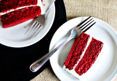 Red Velvet Cake with Cream Cheese frosting  - K Wakile
