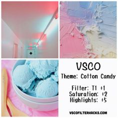 Cotton Candy Instagram Feed