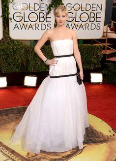 Jennifer Lawrence/Christian Dior Golden Globes 2014