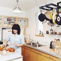 in the kitchen by joy the baker - who proves you need no fancy equipment to succeed!