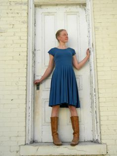 T-Shirt Dress Bamboo and Organic Cotton by yanadee on Etsy