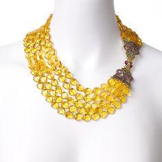 """Polished Elegance"" Necklace -- Shop online at Heidi Daus through Zoola and get cash back!"