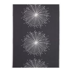 KAJSASTINA Fabric, gray/white $5.99 / metre
