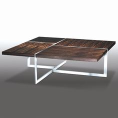 The classic modernist Brueton James T coffee table, is pure form and function.