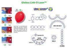 Súper colección de decoración con globos! | Área de Ideas