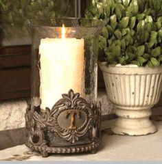 Monogram Candleholder
