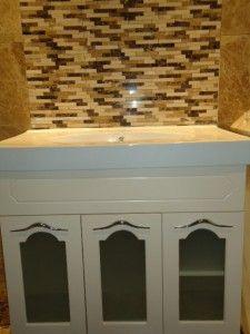 New bathroom classic contemporary marble tiles 19 ideas Modern Toilet, Modern Sink, Modern Kitchen Design, Best Bathroom Lighting, Bathroom Light Fixtures, Bathroom Wall Decor, Bathroom Layout, Grey Marble Tile, Marble Floor