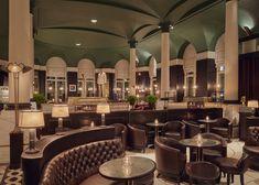"Kerridge's Bar & Grill, Corinthia Hotel London - dpa lighting consultants - ""Right Light, Right Place, Right Time"" ™ Restaurant Lighting, Restaurant Bar, Oriental Hotel, Bar Design Awards, Lobby Lounge, Bar Grill, Light Architecture, London Hotels"