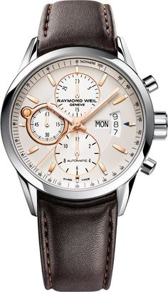 @raymondweil  Watch Freelancer Mens #bezel-fixed #bracelet-strap-leather #brand-raymond-weil #case-depth-13-7mm #case-material-steel #case-width-42mm #chronograph-yes #date-yes #day-yes #delivery-timescale-4-7-days #dial-colour-silver #gender-mens #luxury #movement-automatic #official-stockist-for-raymond-weil-watches #packaging-raymond-weil-watch-packaging #style-dress #subcat-freelancer #supplier-model-no-7730-stc-65025 #warranty-raymond-weil-official-2-year-guarantee #water-resistant-100m