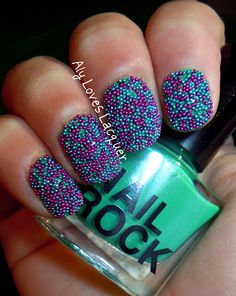 nail rock nail caviar from Urban Outfitters