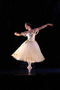 Company Dancer Eleanor Freeman as Myrtha in Queensland Ballet's Giselle Photographer David Kelly
