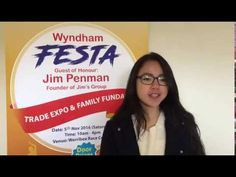 #WyndhamFESTA Ambassador Phuong-Thanh Nguyen representing Vietnamese Community invites you to have a fun day with us with your friends and families on #WyndhamFESTA NOV 5 at Werribee Racecourse http://nbaysevents.com.au/