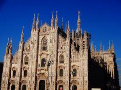 Duomo em Milão, Itália.