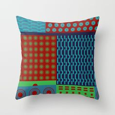 Buy Japanese Style Colorful Patchwork Throw Pillow by annaki. Worldwide shipping available at Society6.com. Just one of millions of high quality products available.