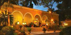 @Liz Mester Mester P stayed at the gorgeous Hacienda Chichen on her honeymoon