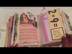 Junk journal -- LittleSOLD )Little Golden Book of Hymns Book Journal, Journal Ideas, Bullet Journal, Crafts To Make, Fun Crafts, Accordion Folder, Little Golden Books, Handmade Journals, Book Making