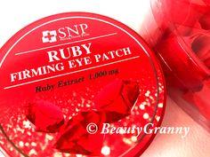 SNP Ruby Firming Eye Patch отзыв. Рубиновые фокусы. Patches, Eyes, Beauty, Cosmetology, Bud