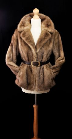 fecd7bdf8af Classic vintage pastel mink fur coat from 1970 s. Part of our A W 17