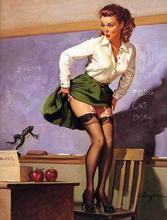 Pin Up Teacher (;