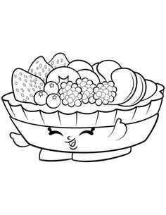 Popcorn Box Poppy Corn Shopkins Season 2 Coloring Pages Printable And Book To Print For Free Find More Online Kids Adults
