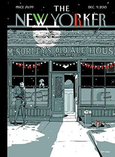 """""""McSorley's Old Ale House, Established The New Yorker Magazine cover Dec, The New Yorker, New Yorker Covers, Old Ale, Seasons Posters, New York Art, Magazine Art, Magazine Covers, Digital Magazine, Print Magazine"""