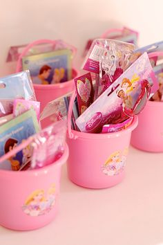 Cute ideas for a Disney Princess Birthday Party