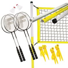 Franklin Sports Advanced Badminton Set   Overstock.com Shopping - Great Deals on Franklin Sports Lawn Games