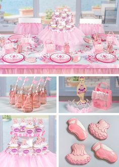 Over 100 items from Shindigz to create your very own personalized #Ballerina Party--- Start Here!