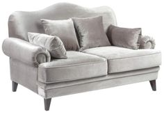 Метки: Маленькие диваны.              Материал: Ткань, Дерево.              Бренд: MHLIVING.              Стили: Арт-деко, Классика и неоклассика.              Цвета: Светло-серый.