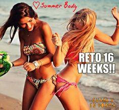 CONSIGUE UN SUMMER BODY !! 😄😄👙👙 En 16 Semanas conseguirás el éxito y sin efecto YO-YO.