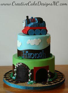 Girly Thomas Cake