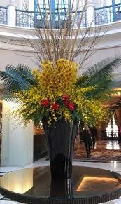 flower arrangements in