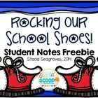 This is a free pack of back to school student notes of encouragement! I use these with our reading of Pete the Cat: Rocking in my School Shoes. Sev...