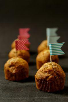 (Over ripe) banana muffins