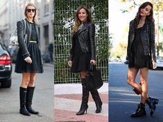 Little black dress no inverno: como usar o clássico nesses dias mais frios - Moda it