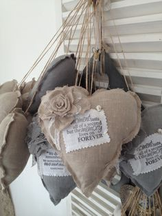 Shabby Rose Hearts~❥