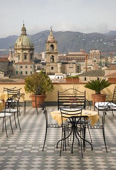 Palermo, Sicily.  Where my family is from.