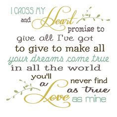 I Cross My Heart By: George Strait